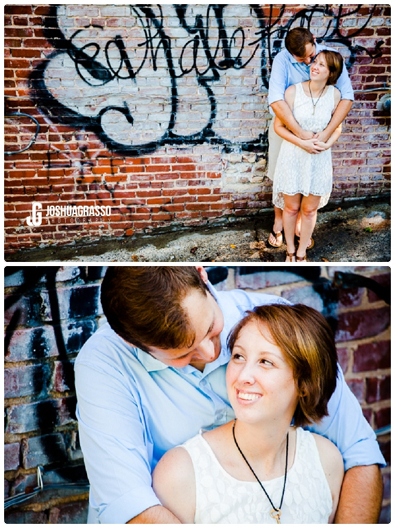 Graffitti Engagement Session // Atlanta Wedding Photography