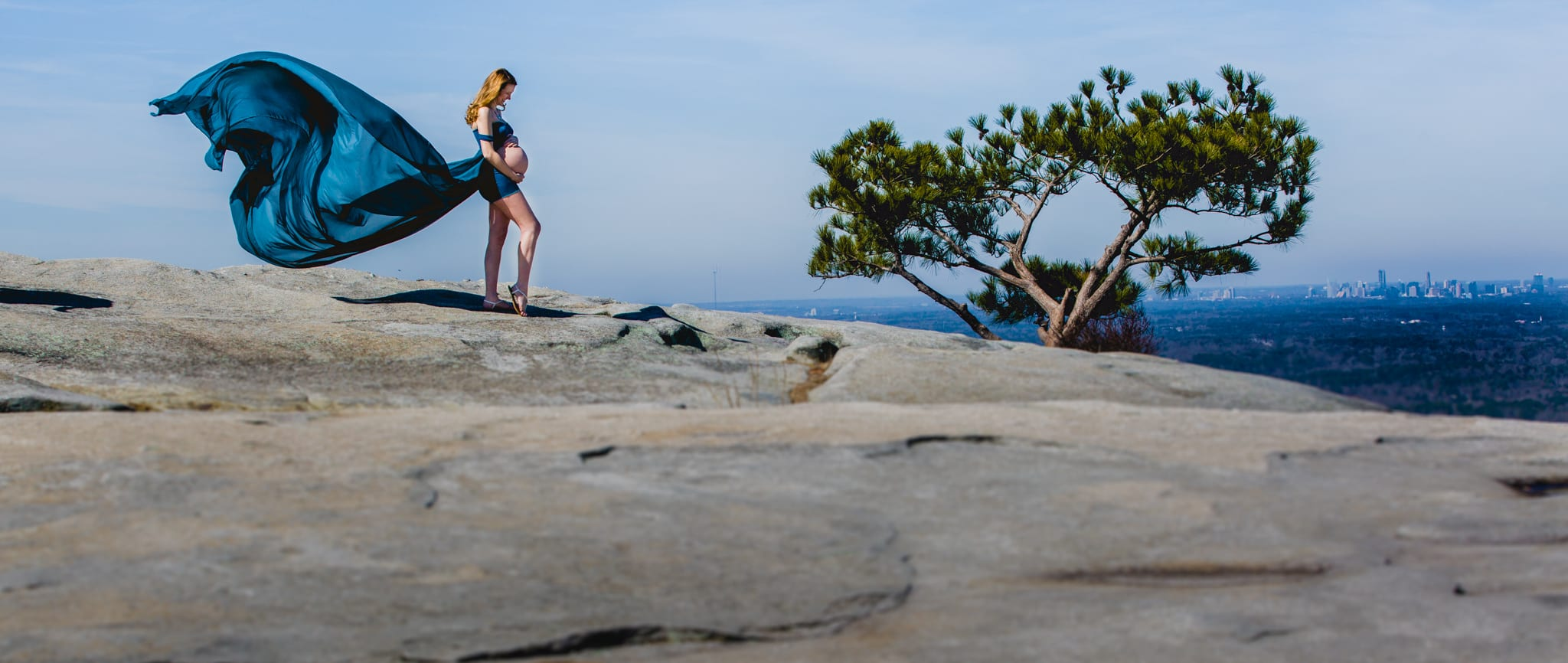 Stone Mountain Maternity portrait