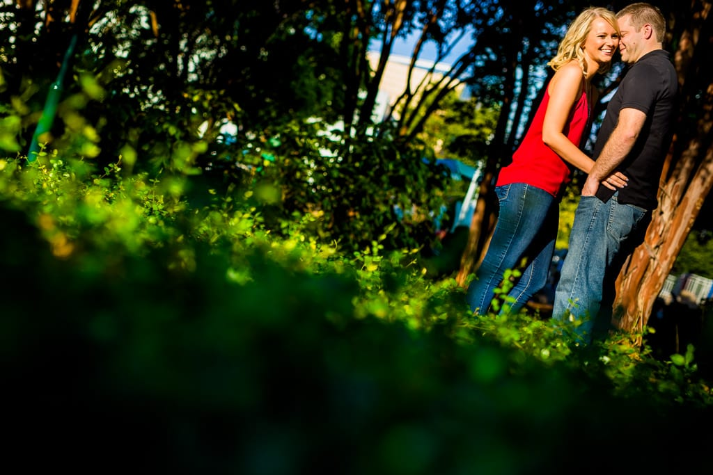 Centennial Park engagement session.