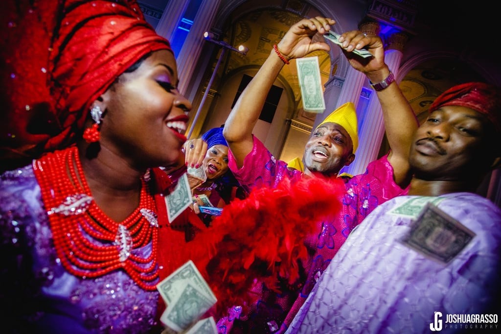 Nigerian Money dance