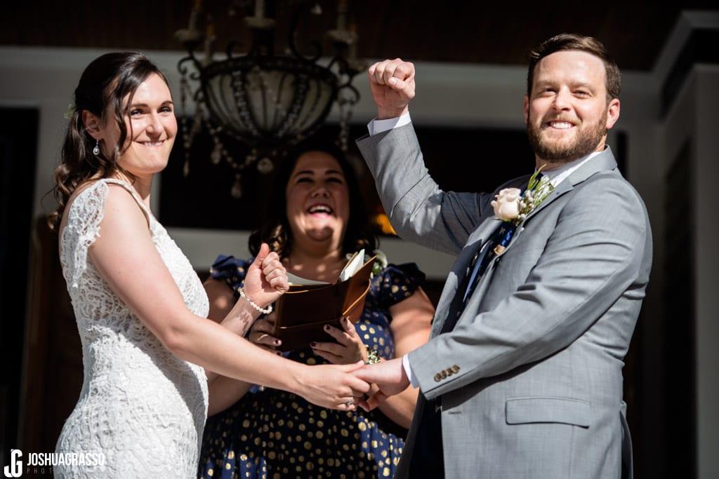 Howard House Atlanta Wedding ceremony
