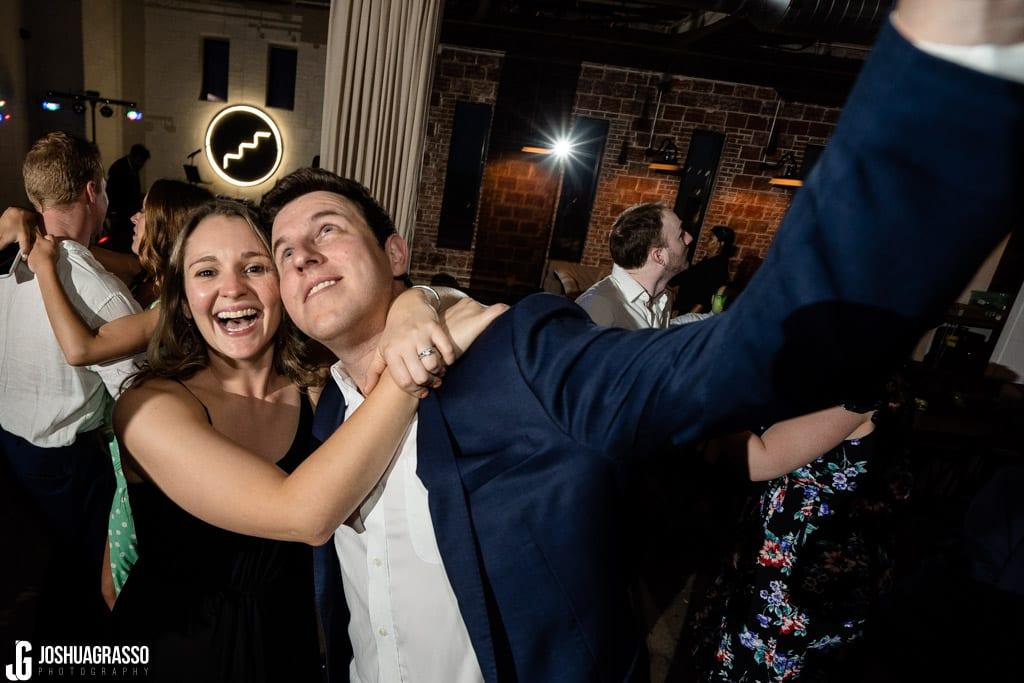wedding reception at upstairs atlanta