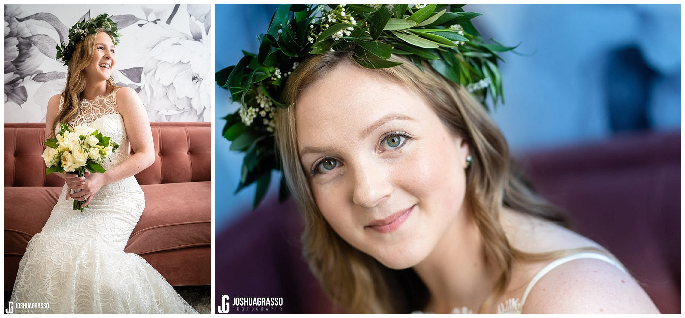 Bride portrait at upstairs atlanta