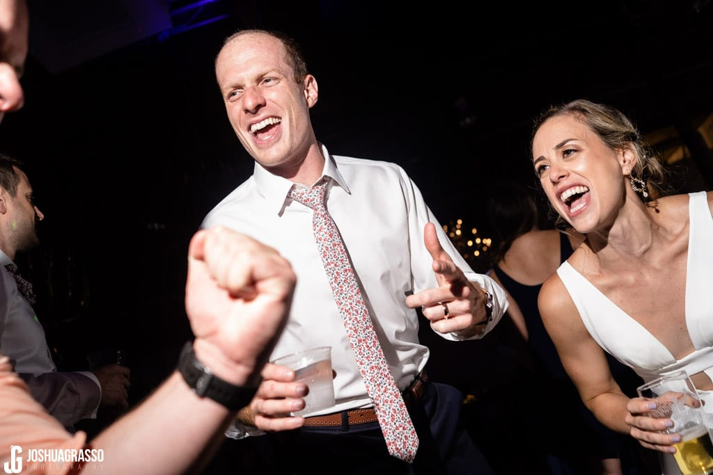 Club rett dance party at Monday Night Garage Wedding
