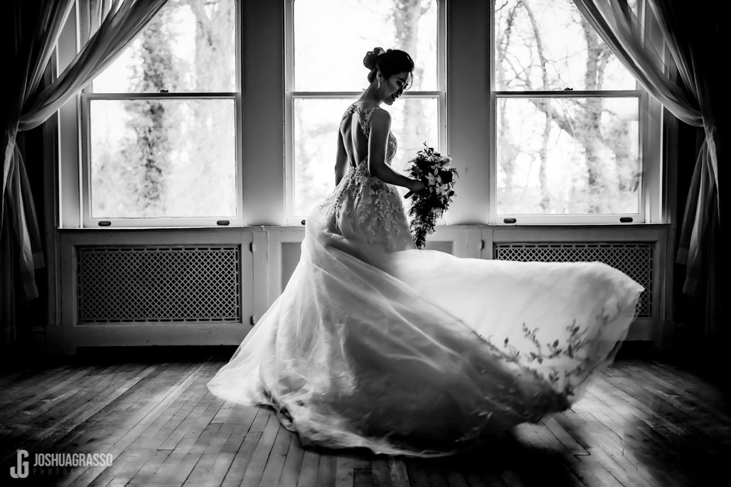 Callanwolde wedding Indoor bridal portraits