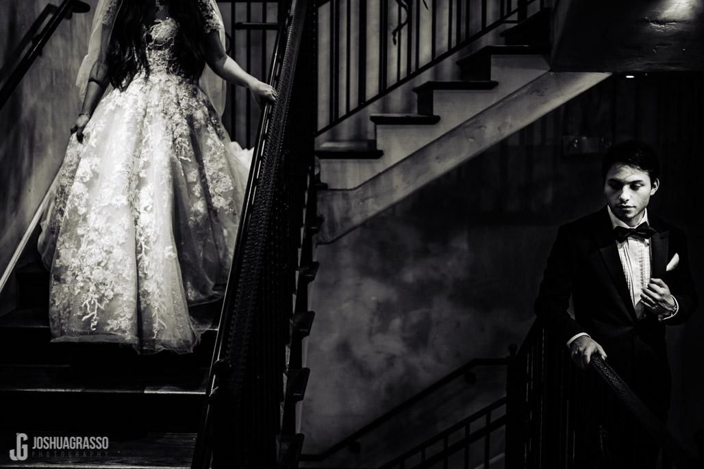 Wedding portrait bride and groom at montaluce winery wedding venue.