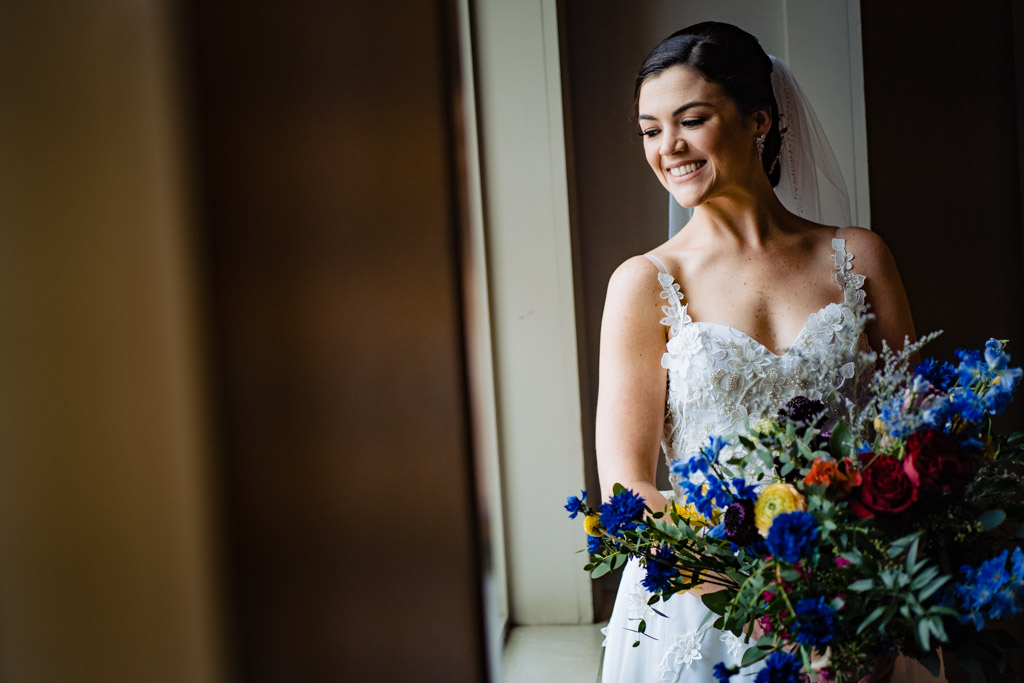 Portrait of Bride at Greystone Piedmont Park.