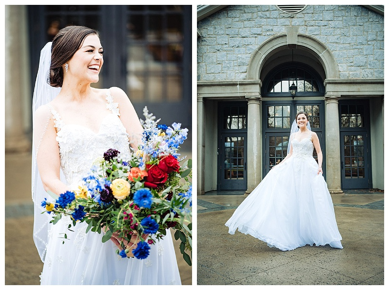 Portraits of Bride at Greystone Piedmont Park.