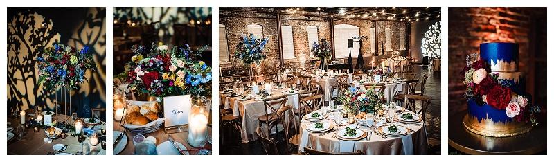 Beautiful Wedding reception King Pillow Art Center.