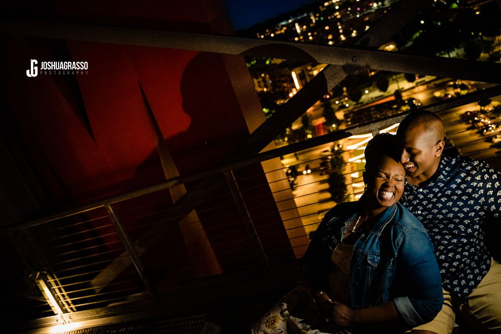 the roof on ponce engagement session
