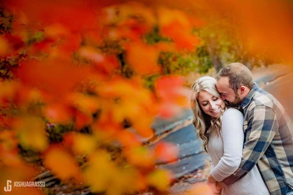 atlanta fall engagement session