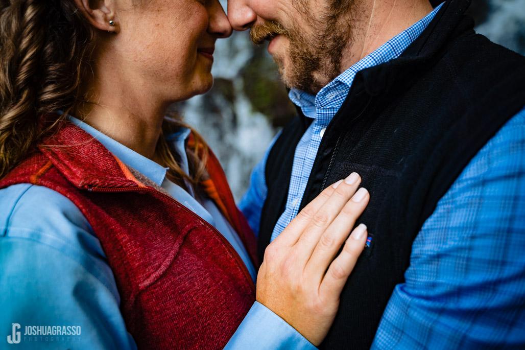 Amicalola Falls Engagement session