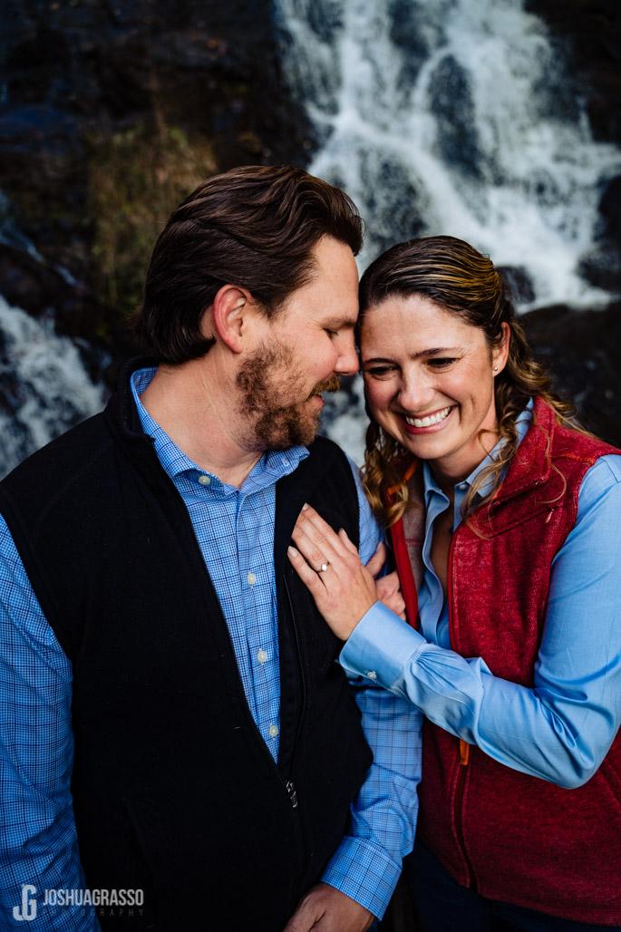 Amicalola Falls Engagement photos
