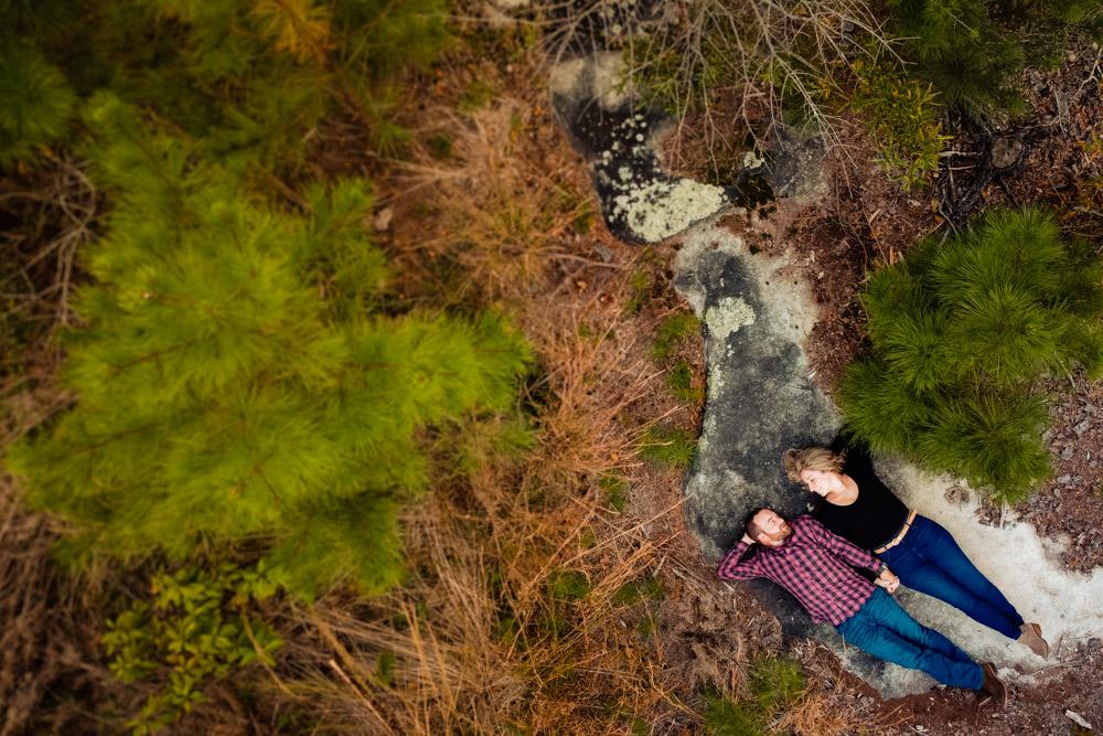Stone mountain best atlanta engagement photography