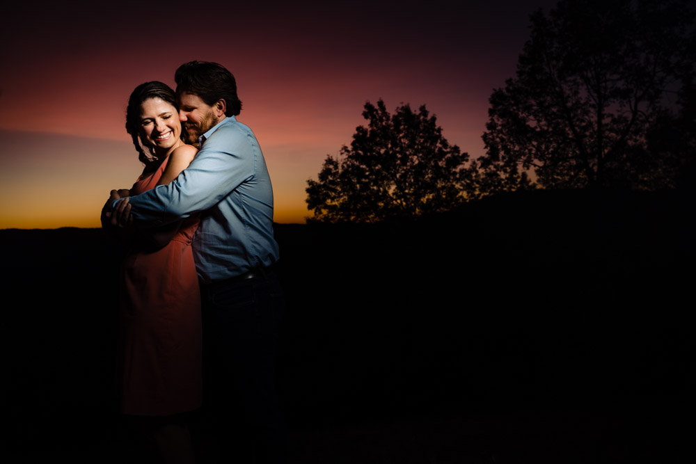 sunset portrait best engagement photo of 2020